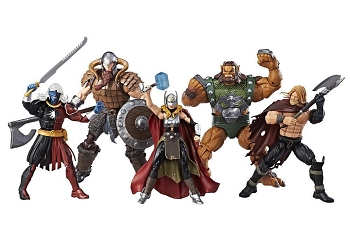 SDCC 2017 Marvel Legends BATTLE FOR ASGARD Set