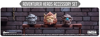 Spero Studios Animal Warriors of the Kingdom: Adventurer Heads Accessory Set