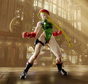 S.H. Figuarts Street Fighter V CAMMY
