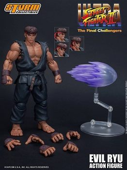 Storm Collectibles Ultra Street Fighter II EVIL RYU