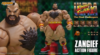 Storm Collectibles Ultra Street Fighter 2 ZANGIEF
