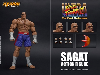 Storm Collectibles Ultra Street Fighter II SAGAT