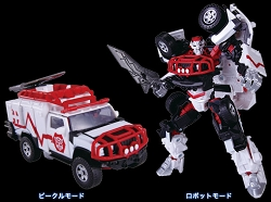 Takara Age of Extinction Movie Advance Deluxe Class RATCHET