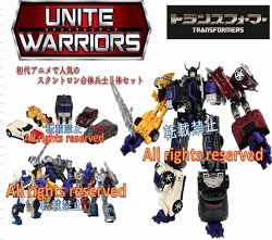 Takara Transformers Unite Warriors - UW-02 Menasor