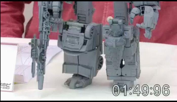 Transformers Takara Unite Warriors Lightspeed Boneco de UW-08 Novo computrão