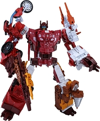 Takara Transformers Unite Warriors - UW-08 COMPUTRON / COMPUTICON