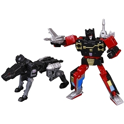 Takara Tomy Masterpiece MP-15 - RUMBLE & JAGUAR (Reissue)