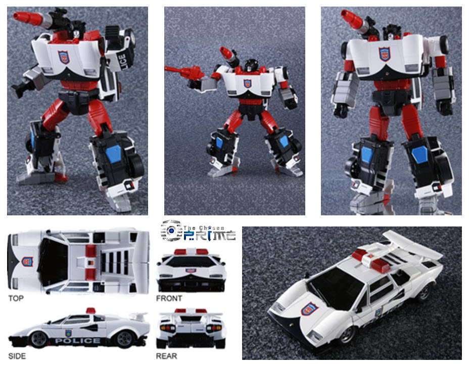 COIN TAKARA TOMY Transformers Masterpiece MP-14C CLAMP DOWN Clamp Down figure