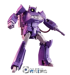 Takara Tomy - Masterpiece MP-29 LASERWAVE/SHOCKWAVE w/Coin