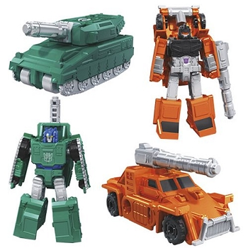 Transformers: Earthrise Micro Masters MILITARY PATROL (Bombshock and Growl)