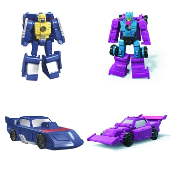 Transformers: Earthrise Micro Masters RACE TRACK PATROL (Ground Hog & Roller Force)