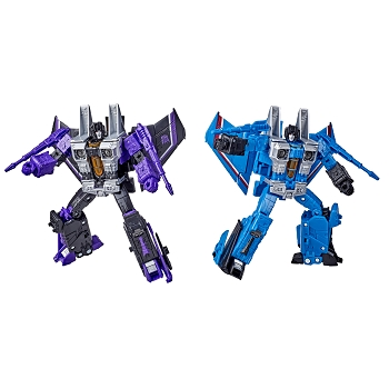 Transformers: Earthrise Voyager Class Seeker Set - SKYWARP & THUNDERCRACKER