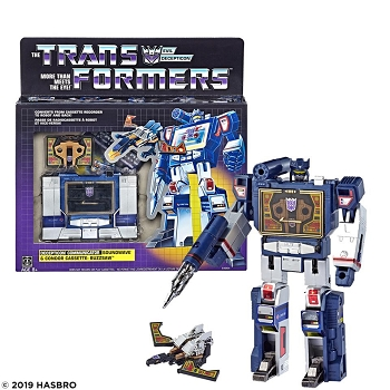 Transformers G1 Reissue SOUNDWAVE with BUZZSAW