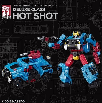 Transformers Generations Selects HOTSHOT
