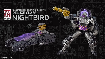 Transformers Generations Selects NIGHTBIRD