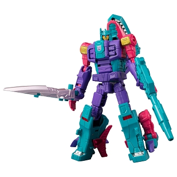 Transformers Generations Selects King Poseidon (Piranacon): OVERBITE