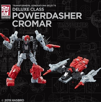 Transformers Generations Selects POWERDASHER CROMAR