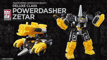 Transformers Generations Selects POWERDASHER ZETAR