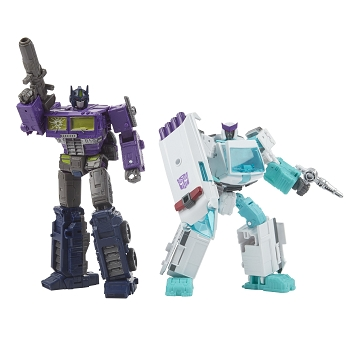 Transformers Generations Selects Shattered Glass OPTIMUS PRIME & RATCHET 2-Pack