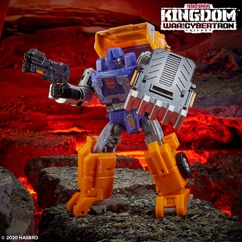 Transformers: Kingdom Deluxe Class HUFFER