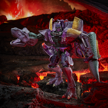 Transformers: Kingdom Leader Class MEGATRON T-REX