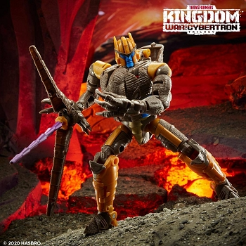 Transformers: Kingdom Voyager Class DINOBOT