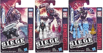 Transformers: Siege BATTLE MASTERS Wave 1 Set of 3