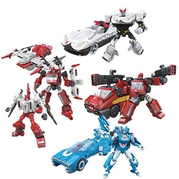 Transformers: Siege Deluxe Wave 2 Set of 4