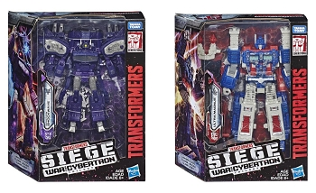 Transformers: Siege Leader Wave 1 Set (Shockwave and Ultra Magnus)