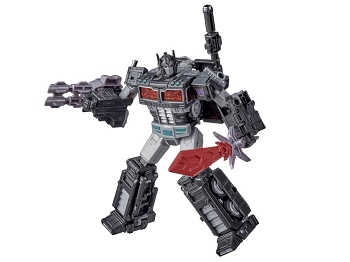 Netflix X Transformers: Siege Leader Class Battle Worn Nemesis Prime Spoiler Pack