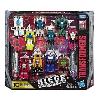 Transformers: Siege MICRO MASTERS Autobot & Decepticon 10-Pack