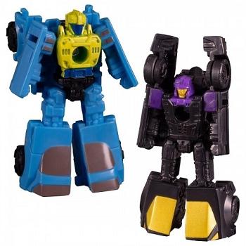Transformers: Siege MICRO MASTERS Wave 3 Sportscar Patrol Decepticon Blackjack & Hyperdrive