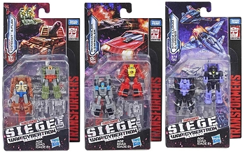 Transformers: Siege MICRO MASTERS Wave 1 Set of 3