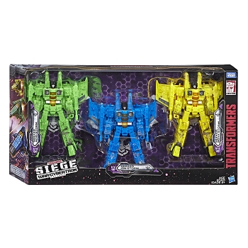 Transformers: Siege Decepticon Seekers 3 Pack - Rainmakers