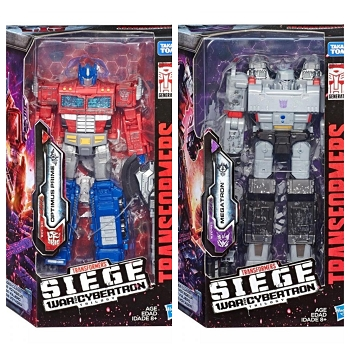 Transformers: Siege Voyager Wave 1 Set