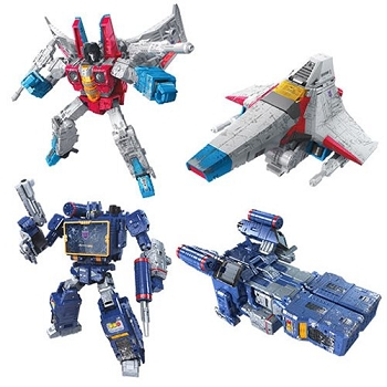Transformers: Siege Voyager Wave 2 Set