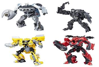 Transformers STUDIO SERIES WAVE 2 DELUXE Set of 4