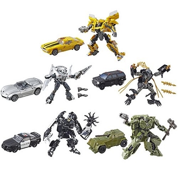 Transformers STUDIO SERIES WAVE 5 DELUXE (Set of 5)