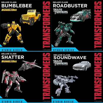 Transformers STUDIO SERIES WAVE 9 DELUXE Set of 4