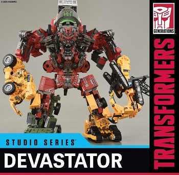 Transformers STUDIO SERIES SS-69 ROTF DEVASTATOR SET