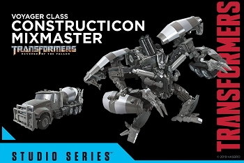 Transformers STUDIO SERIES Voyager SS-53 MIXMASTER