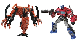 Transformers STUDIO SERIES WAVE 6 Voyager (Set of 2)