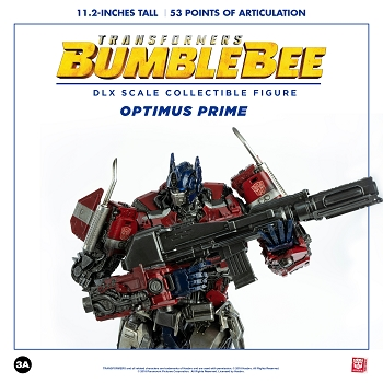 World of 3A Bumblebee Movie DLX Scale OPTIMUS PRIME