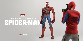 World of 3A PETER PARKER / SPIDERMAN 1/6 Scale Figure Set