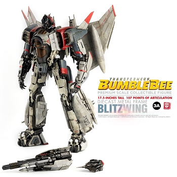 World of 3A Bumblebee Movie PREMIUM Scale BLITZWING