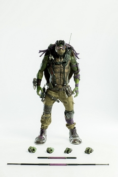 World of 3A TMNT Out of the Shadows DONATELLO 1/6 Scale Figure