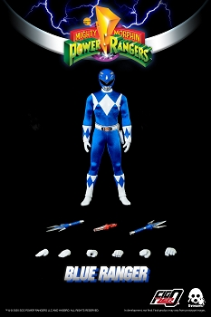 ThreeZero Mighty Morphin Power Rangers BLUE RANGER- 1/6 Scale