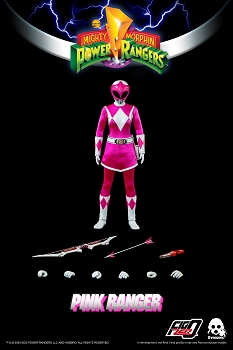 ThreeZero Mighty Morphin Power Rangers PINK RANGER- 1/6 Scale