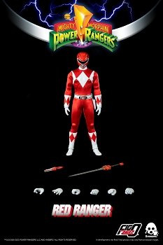 ThreeZero Mighty Morphin Power Rangers RED RANGER- 1/6 Scale
