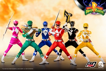 ThreeZero ThreeZero Mighty Morphin Power Rangers Set- 1/6 Scale